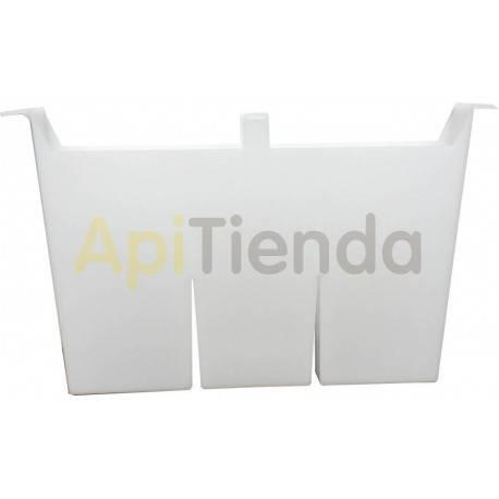 Alimentadores Alimentador de cuadro Layens 2.5 kg Alimentador de cuadro para colmenas Layens fabricado en plástico alimentario.
