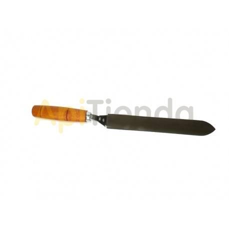 Desoperculado Cuchillo liso para desopercular 20,5cm Esta herramienta constituye uno de los básicos en su kit de apicultor. Se u