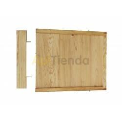 Colmenas de madera Fondo de madera, colmena Langstroth/Dadant Base de madera para colmenas modelo Langstroth y Dadant fijas.