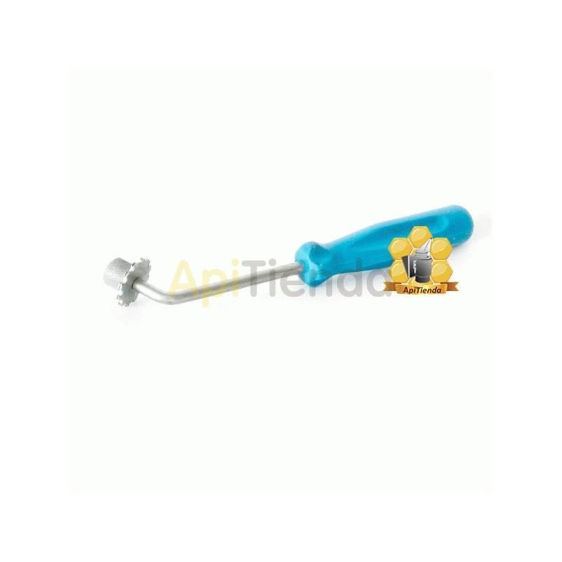Ofertas Espuela manual pegar cera  Ideal para pegar la cera a los alambres de los cuadros. Se debe calentar en agua caliente y