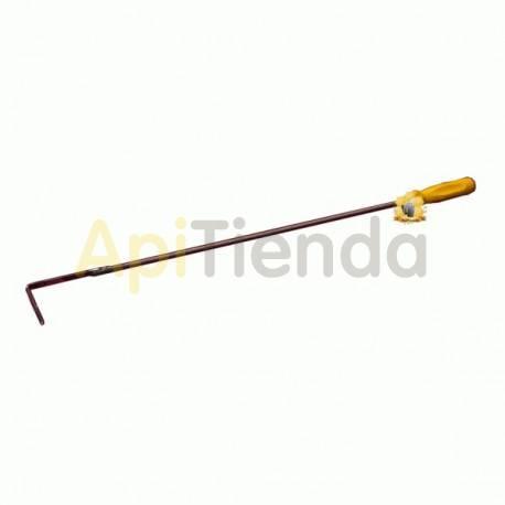 Herrajes Limpiador por piquera de colmena,largo Limpiador por piquera de colmena, largo de 50 cm