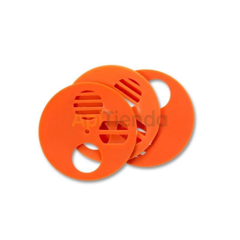 Herrajes Piquera disco Ø50mm Lyson Piqueras circulares de 50mm de diámetro fabricadas en plastico. Ideal para nucleos