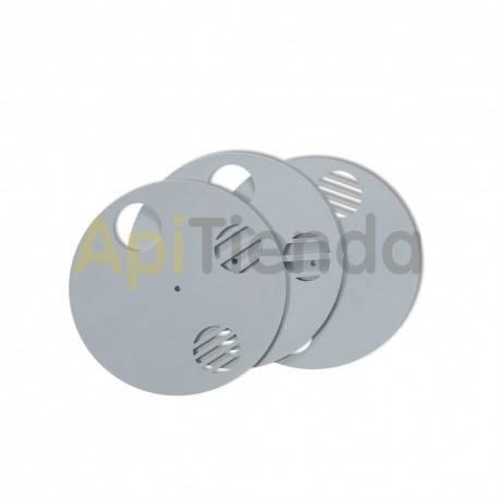Herrajes Piquera disco Ø80mm Lyson Piqueras circulares de 80mm de diámetro fabricadas en plástico. Ideal para nucleos