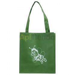 Bolsa de algodon verde