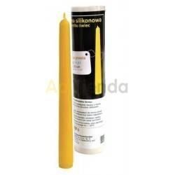 Moldes Molde Vela Lisa Molde de silicona para elaborar las velas de cera de abeja Forma - Vela Lisa Altura 200 mm 40 gr de