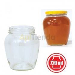 Bote de cristal barril 1kg