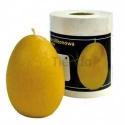Moldes Molde Huevo Molde de silicona para elaborar las velas de cera de abeja Huevo , mediano Mecha recomendable 3 mm