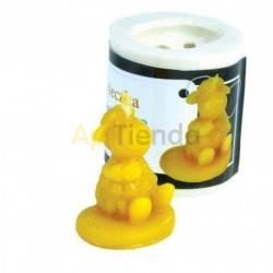 Moldes Molde Oveja Molde de silicona para elaborar las velas de cera de abeja Forma - Oveja Altura 35 mm Mecha 3x6