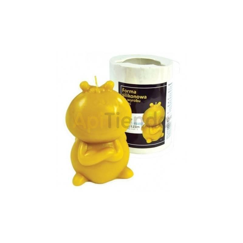 Moldes Molde Willi (abeja Maya) Molde de silicona para elaborar las velas de cera de abeja Forma - Willi (abeja Maya) Altura