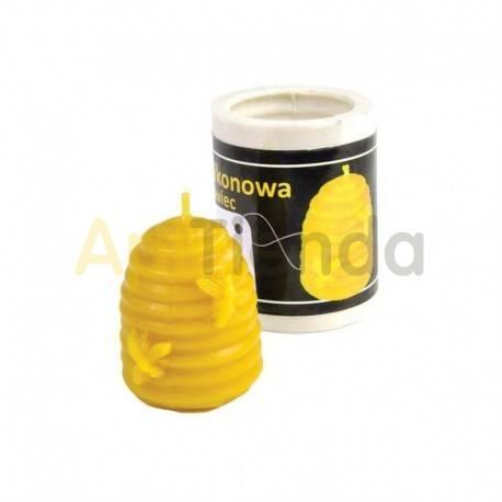 Moldes Molde Vela Colmena con abejas 4,5 cm Molde de silicona Ideal para elaborar las velas de cera de abejas Altura 4,5 cm C