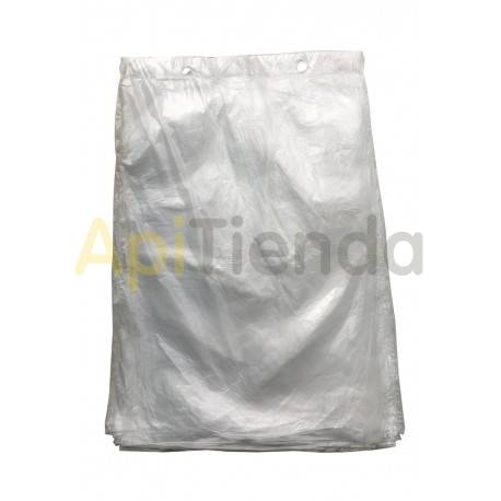 Alimentadores Bolsas de plástico para alimento, 100uds Bolsas especiales para envasar el alimento para abejas. Se rellenan del a