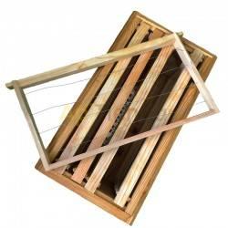 Núcleos Núcleo Langstroth Transhumancia de madera Dominguez Nucleo tipo Langstorth o perfección transhumante de 5 cuadros.Consta