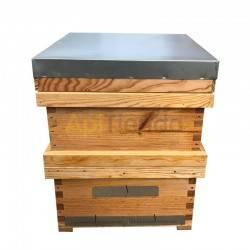 Colmenas de madera Colmena Langstroth Trashumancia Completa Colmena Langstroth Transhumante Madera de pino calidad extra, con u