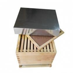 Colmenas de madera Cámara de cría Dadant fija  Cámara de cría Dadant fija, fabricada en madera de pino de alta calidad y tratad