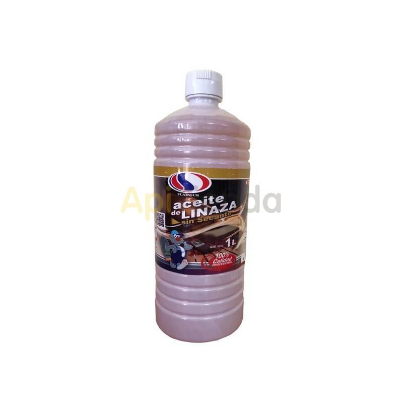 Accesorios y cuadros Aceite de Linaza 1l   Aceite de linaza sin secante Capacidad 1litro Ideal para tratar a las colmenas o