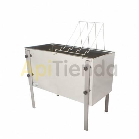 Cubetas Cubeta desopercular 1500mm Cubeta desopercular 1500mm Fabricado en acero inoxidable  Fondo recto,  Altura ajustable,