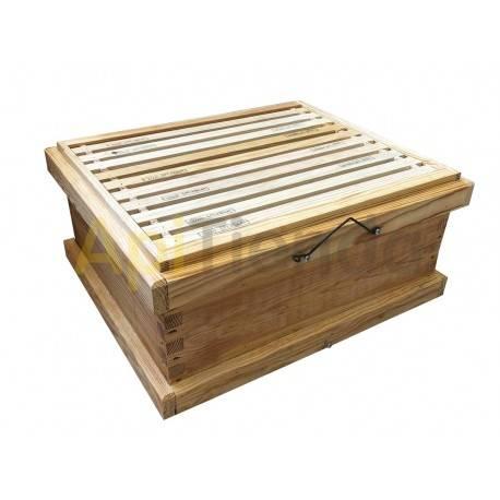Colmenas de madera Alza Langstroth Transhumante Madera de pino Cuadros alambrados Pídenos presupuesto personalizado