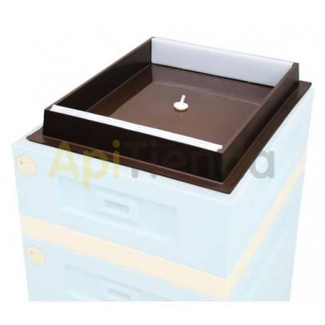 Alimentadores Alimentador de techo para colmena 7,5KG Alimentador de techo para colmenas fabricado en plastico, con una capacida