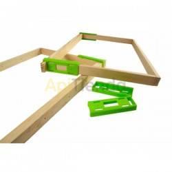 Accesorios y cuadros Separador HOFFMAN 70 cuadros Fabricado en plástico Para cuadros de 25×10mm Se pone por presión, para más