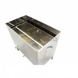 Fundidoras de cera Caldera de Cera Rectangular 24 Cuadros LAYENS Este dispositivo esta pensado para fundir la cera de cualquier
