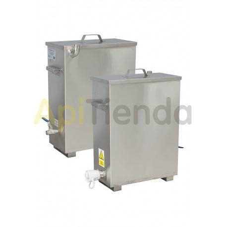 Fundidoras de cera Mini Fundidora Mini fundidora de cera con calefacción y cubierta aislada. Mini máquina de cera con una camis