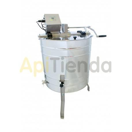 Extractores Extractor 4C Dadant, manual-eléctrico, cestas reversibles  Las partes del extractor que están en contacto con la mi