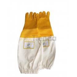 Guantes Guantes de cuero ventilados mod.5 Guantes de cuero de alta calidad, con manguito de algodon y ventilación Muy resistent