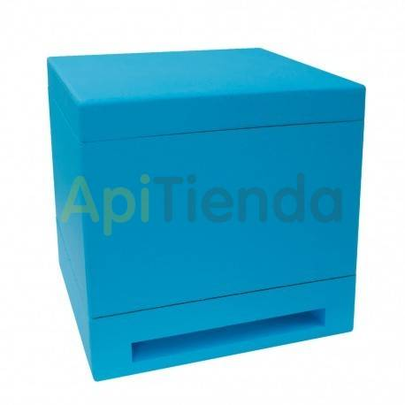 Reinas Mini núcleo plus Mini núcleo de fecundacion fabricado en poliestireno de alta densidad. Capacidad para 6 cuadros. Alime