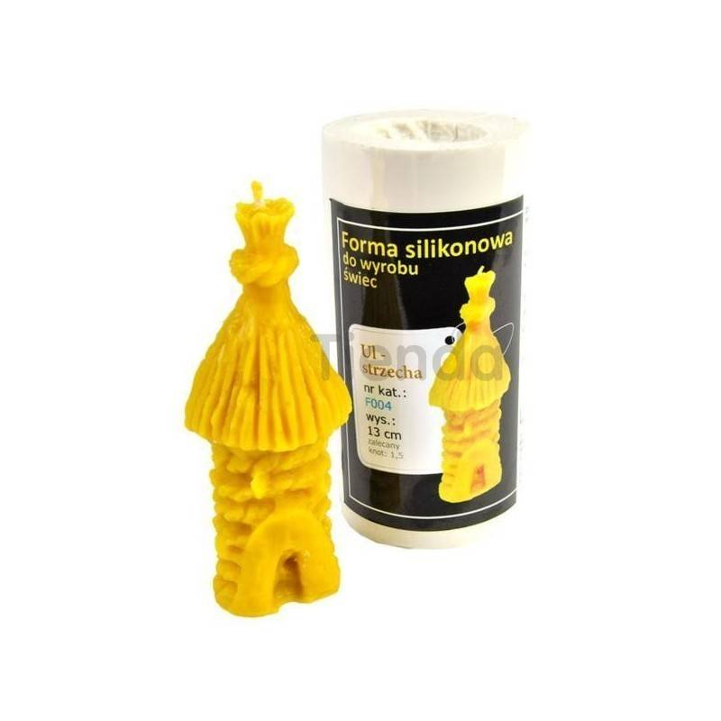 Moldes Molde colmena de paja    Molde de silicona para elaborar velas de cera Forma - Colmena de paja Altura aprox. 130mm