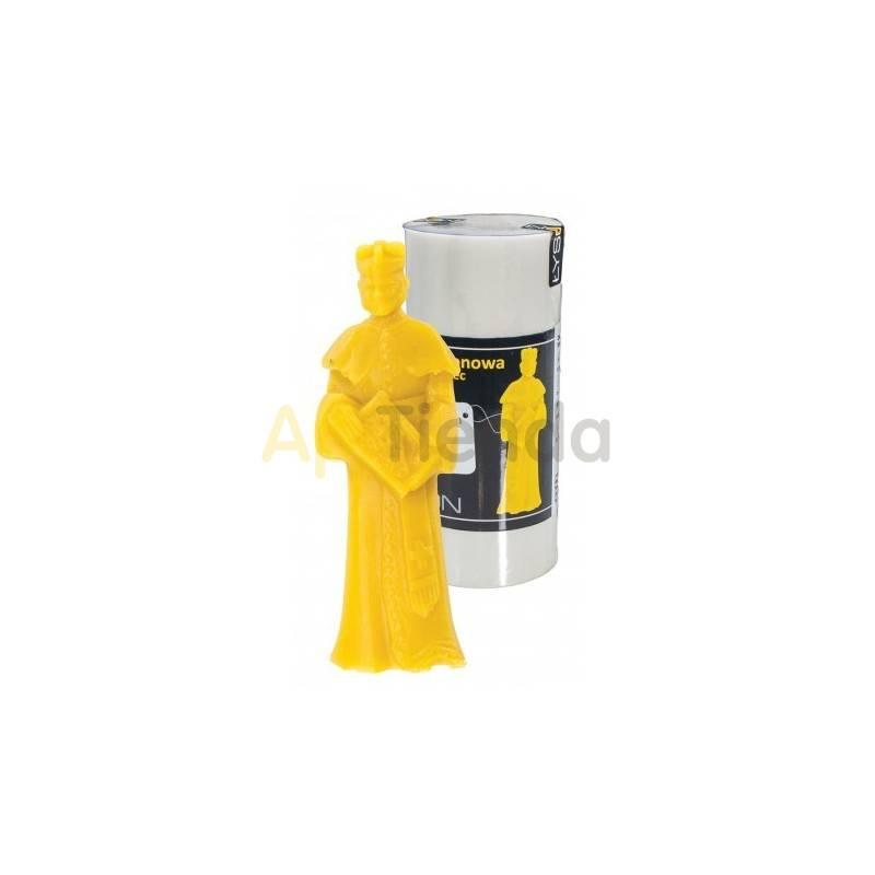 Moldes Molde sacerdote con panal, grande    Molde de silicona para elaborar las velas de cera de abeja Forma - Sacerdote c