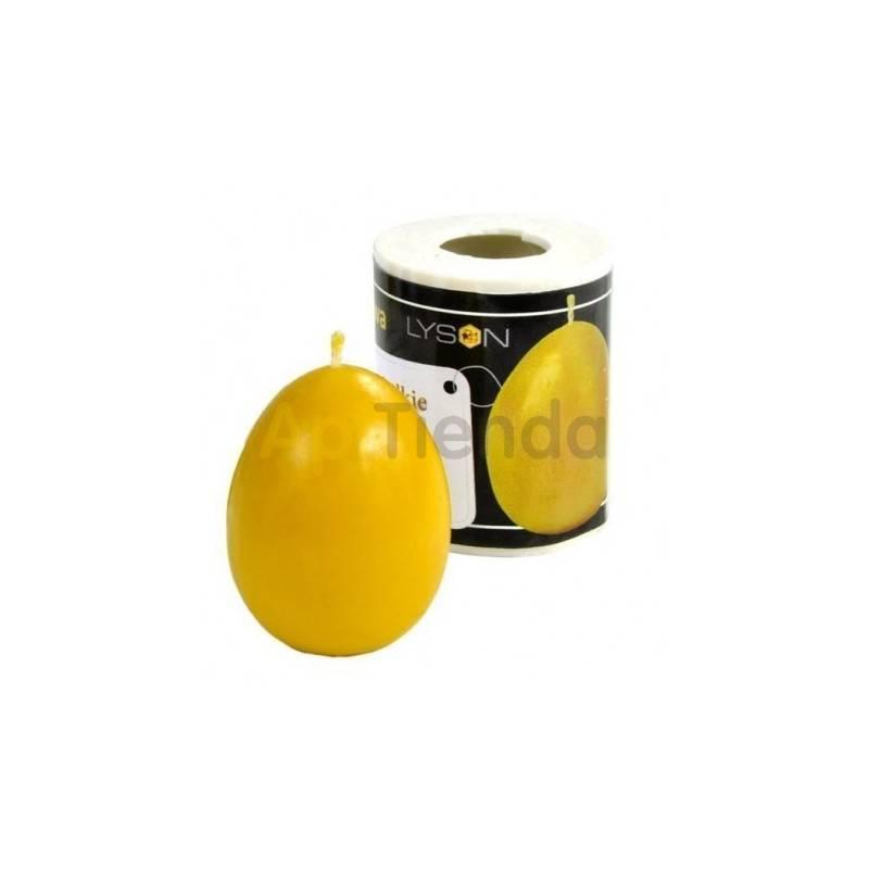 Moldes Molde Huevo liso, pequeño Molde de silicona para elaborar las velas de cera de abeja Huevo liso, pequeño Altura 50 mm