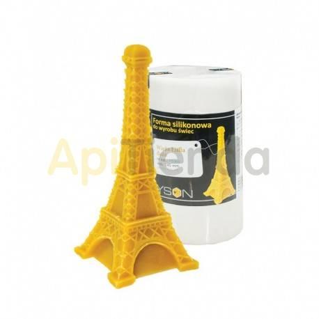 Moldes Molde Torre Eiffel, grande    Molde de silicona para elaborar velas de cera Forma - Torre Eiffel Altura aprox. 145
