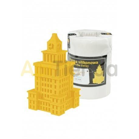 Moldes Molde Palacio de la ciencia y la cultura, grande        Molde de silicona para elaborar velas de cera Forma - Pa