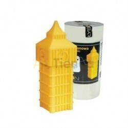 Moldes Molde Big Ben, pequeño        Molde de silicona para elaborar velas de cera Forma - Big Ben Altura aprox. 100m