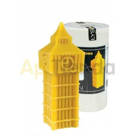 Moldes Molde Big Ben, grande        Molde de silicona para elaborar velas de cera Forma - Big Ben Altura aprox. 150mm