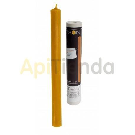 Moldes Molde vela lisa alargada    Molde de silicona para elaborar velas de cera Forma - vela lisa Altura aprox. 240mm M