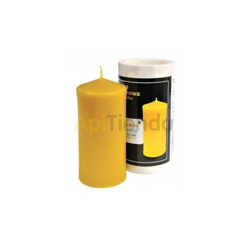 Moldes Molde cilindro, grande      Molde de silicona para elaborar velas de cera Forma - Cilindro Altura aprox. 120mm M