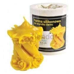 Moldes Molde vela decorada              Molde de silicona para elaborar velas de cera Forma - vela decorada Alt