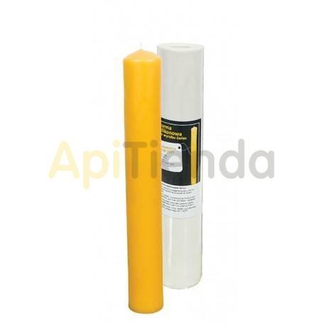 Moldes Molde vela bendita 40x300        Molde de silicona para elaborar velas de cera Forma - vela bendita Altura apr