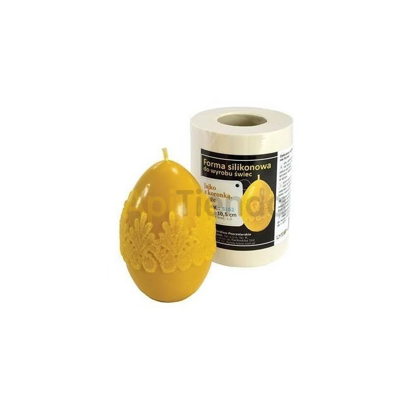 Molde huevo con cordón, grande