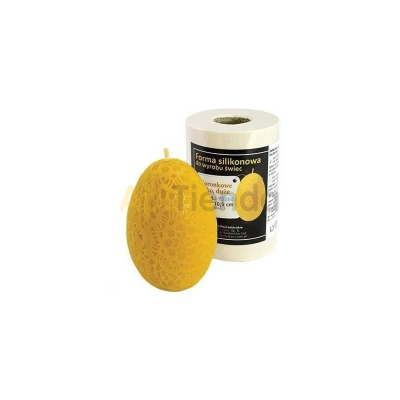 Moldes Molde huevo con ganchillo, pequeño              Molde de silicona para elaborar velas de cera Forma - Hue