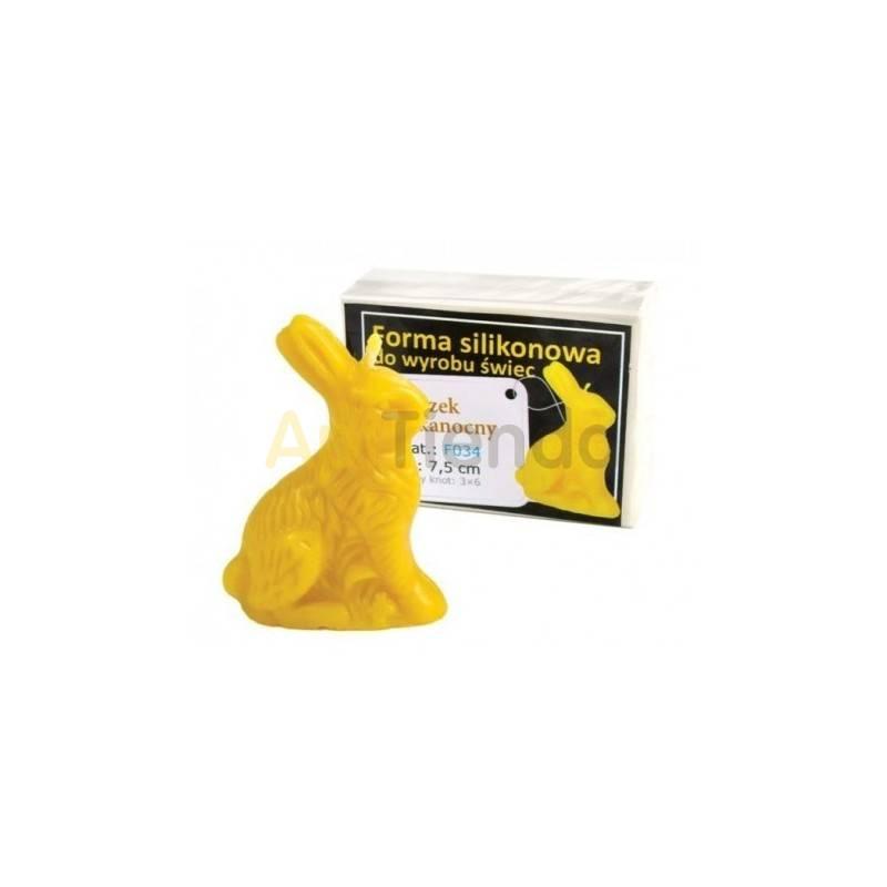 Molde conejo de Pascua