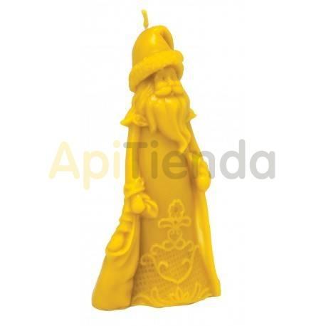Moldes Molde mago invernal                  Molde de silicona para elaborar velas de cera Forma - mago inver