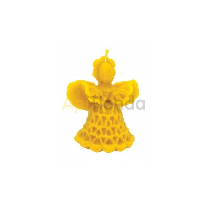 Moldes Molde Angel con encaje                  Molde de silicona para elaborar velas de cera Forma - Ángel c