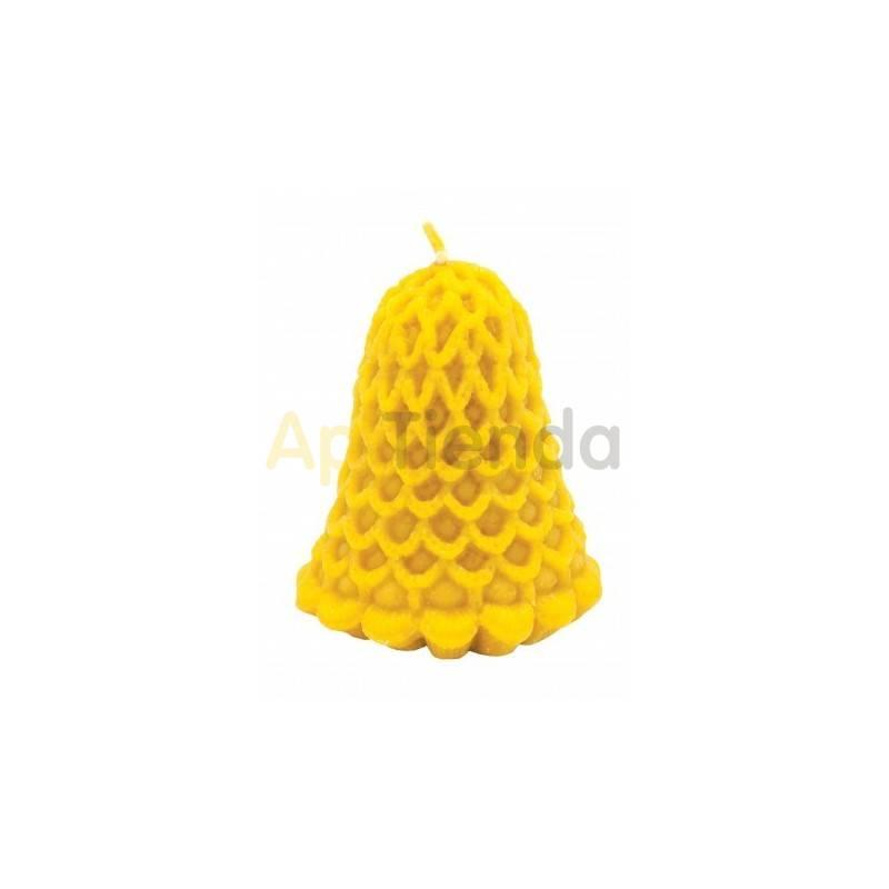 Moldes Molde campana con encaje                  Molde de silicona para elaborar velas de cera Forma - campa
