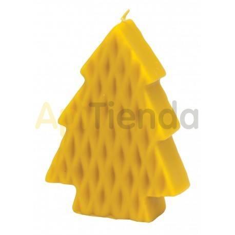Moldes Molde Arbol de Navidad plano                  Molde de silicona para elaborar velas de cera Forma - á