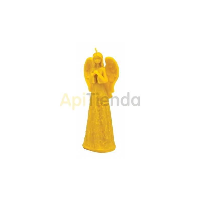 Moldes Molde Angel alto                      Molde de silicona para elaborar velas de cera Altura aprox. 1