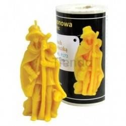 Moldes Molde pastor con cordero                      Molde de silicona para elaborar velas de cera Forma