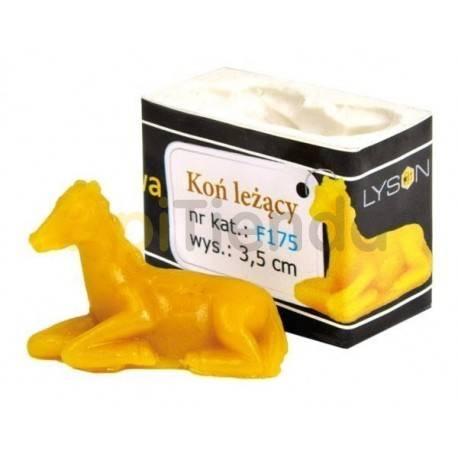 Moldes Molde caballo tumbado                      Molde de silicona para elaborar velas de cera Forma -