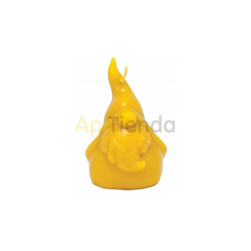 Moldes Molde gnomo    Molde de silicona para elaborar velas de cera Forma - gnomo Altura aprox. 110mm Mecha recomendable